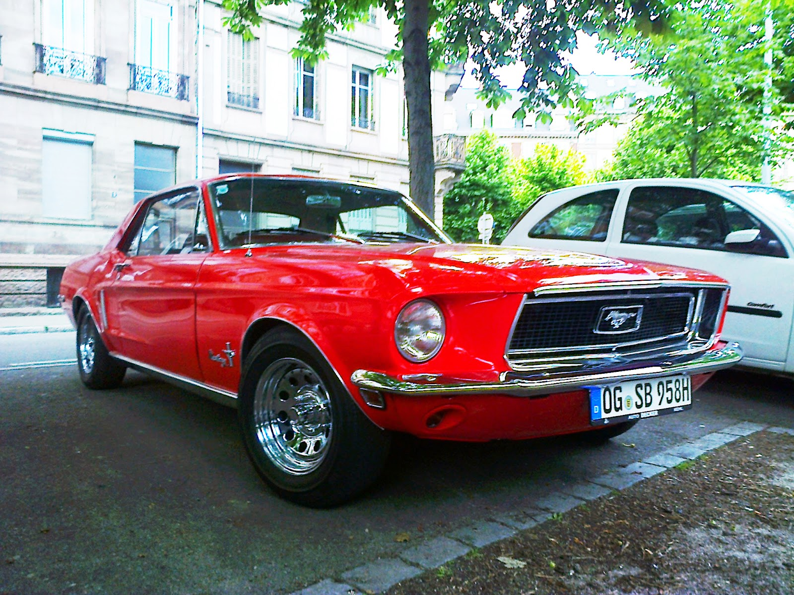 ford mustang hardtop 1968 france spot a car. Black Bedroom Furniture Sets. Home Design Ideas