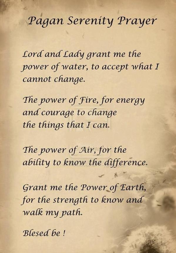 Nordic Wiccan Prayer