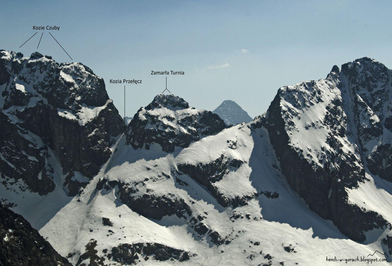 widok na Kozią Przełęcz