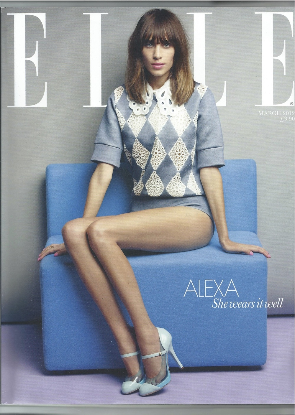 george northwood: Elle March 2012 cover shoot with Alexa ...