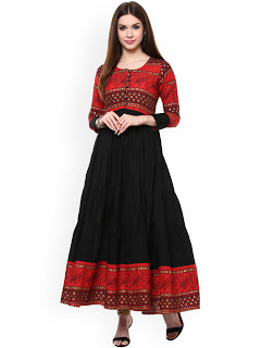 PARTY WEAR KURTIS[ETHNIC WEAR]