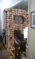 DIY: Wine Cork Monogram