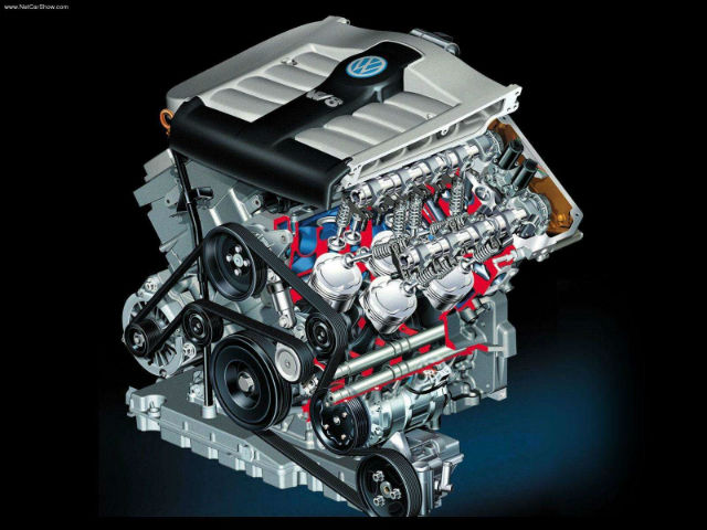 engines volkswagen w8 the car hobby rh thecarhobby blogspot com W16 Engine W16 Engine