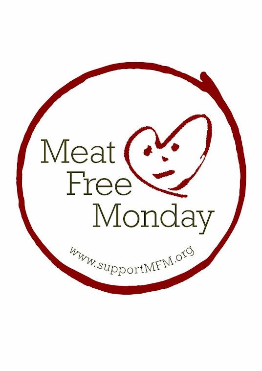 Proud member of the Meat Free Mondays campaign ~ عضو کمپین دوشنبه های بدون گوشت روی عکس کلیک کن