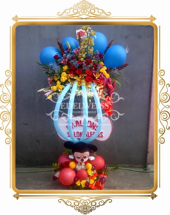 bunga balon special ucapan selamat