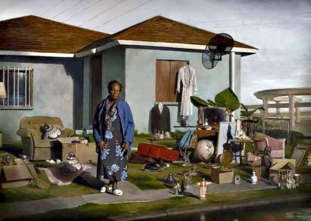Реалистичные картины. Jonathan Wateridge
