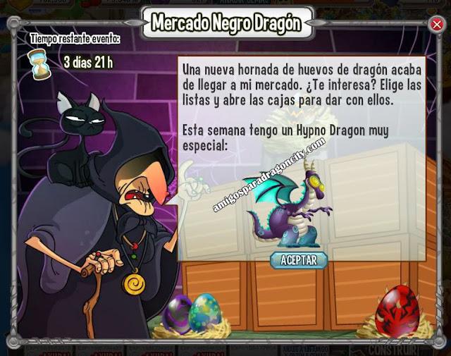 imagen del hipno dragon en el mercado negro del dragon