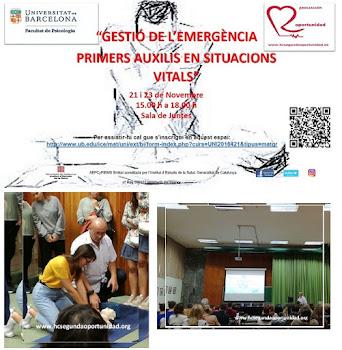 Gestión de la Emegencia y PP.AA en situaciones vitales