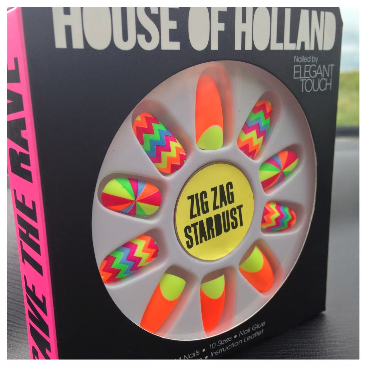 House of Holland Neon nails