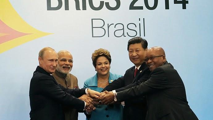 BRICS leadership passes to Russia, $100bn development bank 'main priority'  Brics-russia-bank-economy.si
