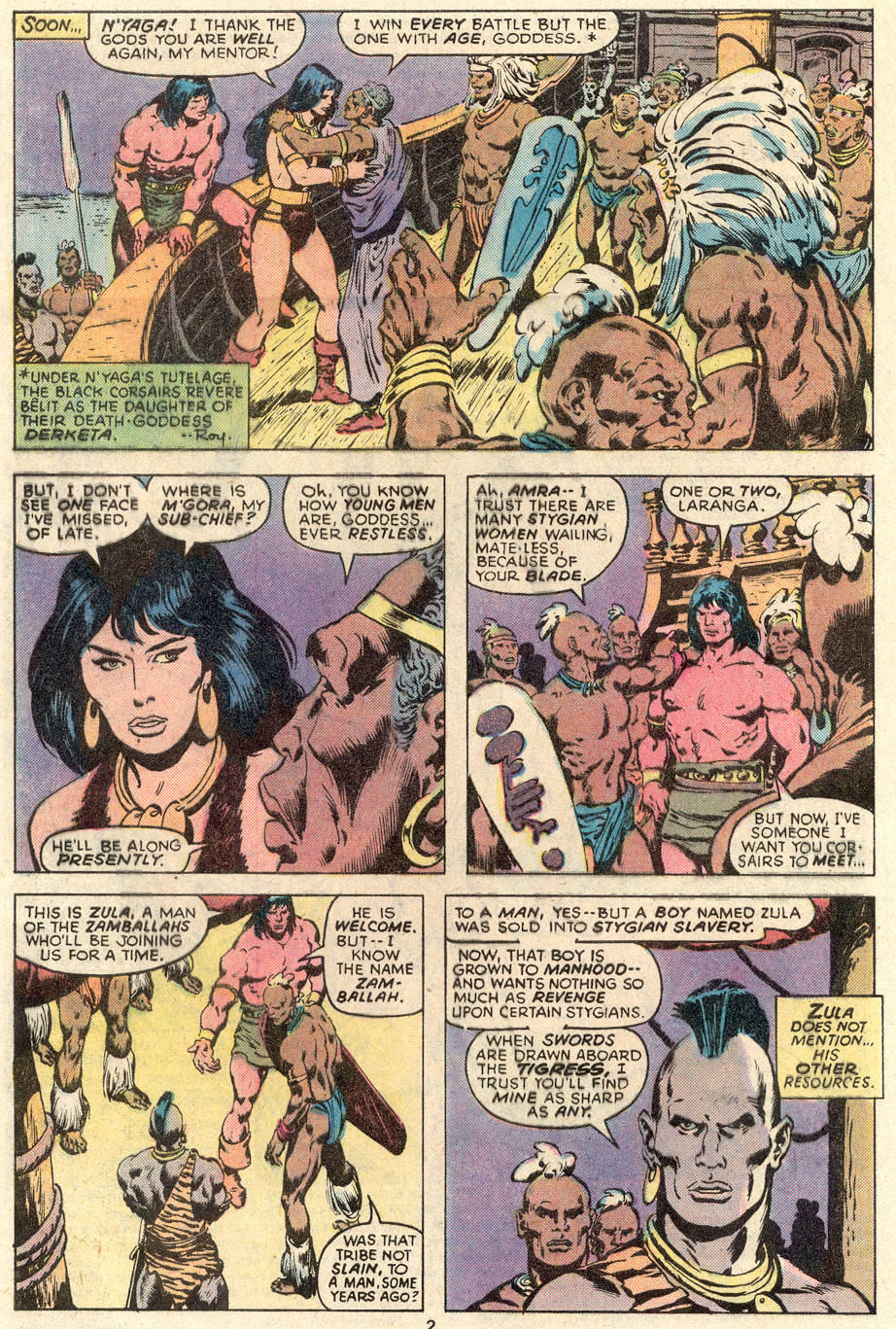 Conan the Barbarian (1970) Issue #91 #103 - English 3