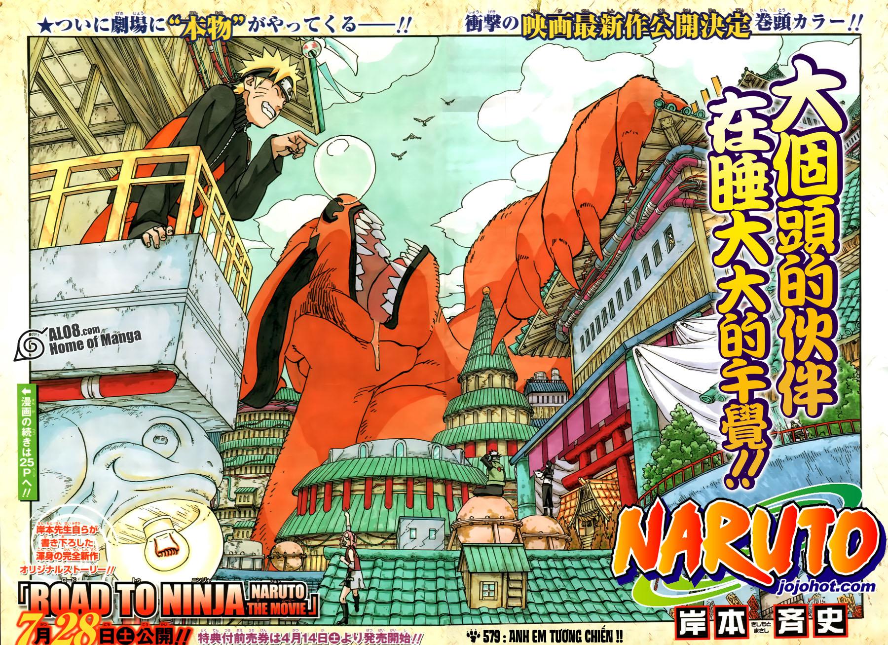 Naruto chap 579 Trang 2 - Mangak.info