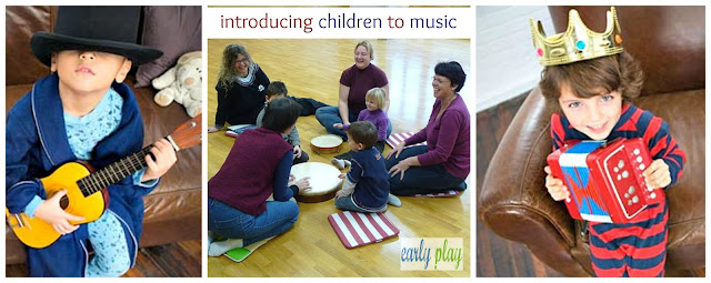 introducing preschool children to music