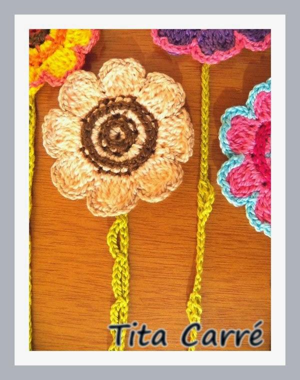 Projeto Secreto - Flores que são marcadores de livros
