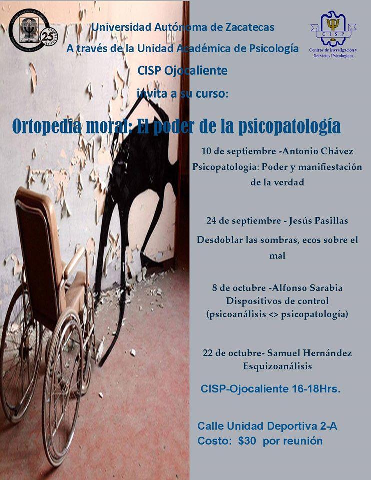 Ortopedia moral: El poder de la psicopatología