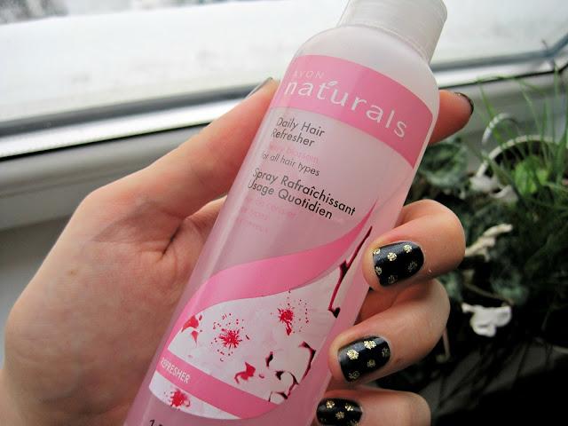 avon naturals daily refreshing hair mask hair spray review