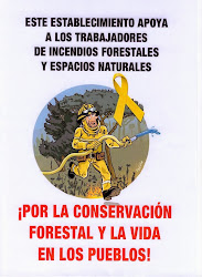 Trabajadores forestales en lucha