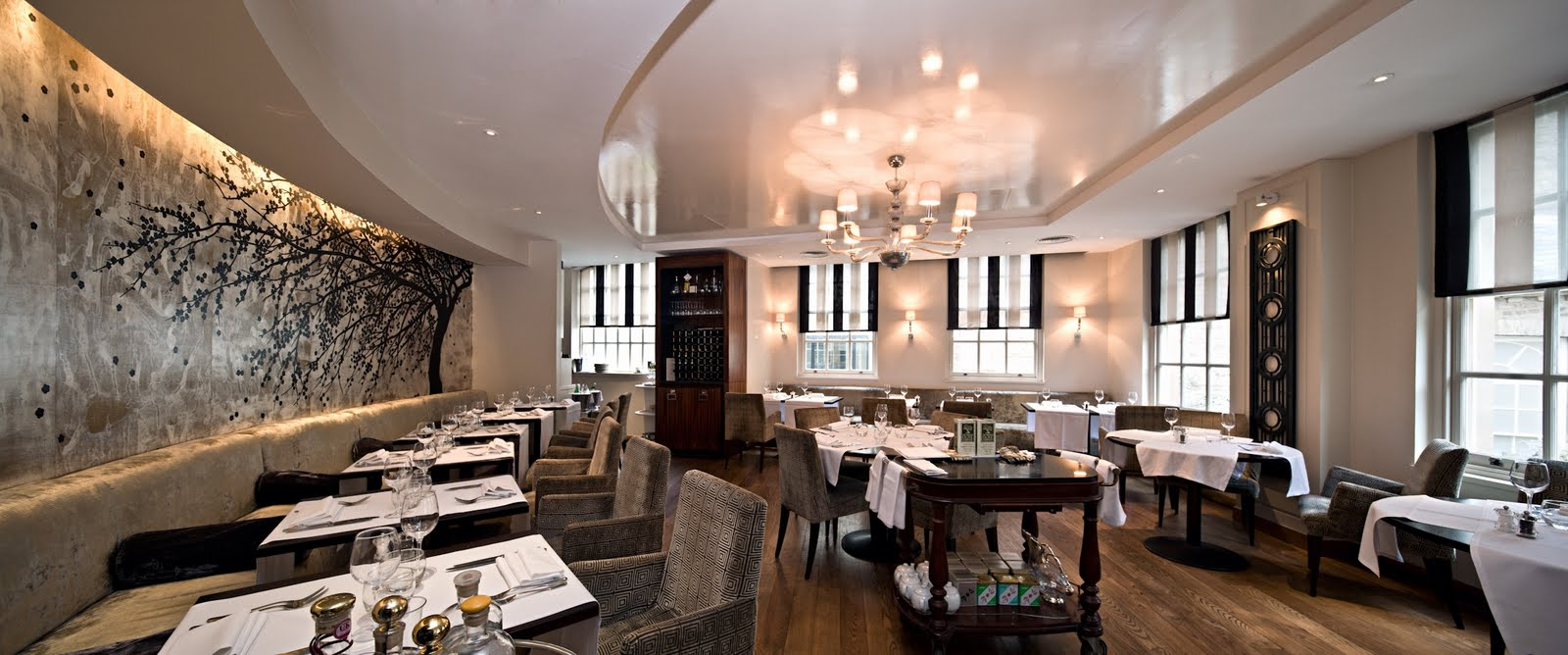 Fluid london blog musings from the bar and the for Best private dining rooms central london