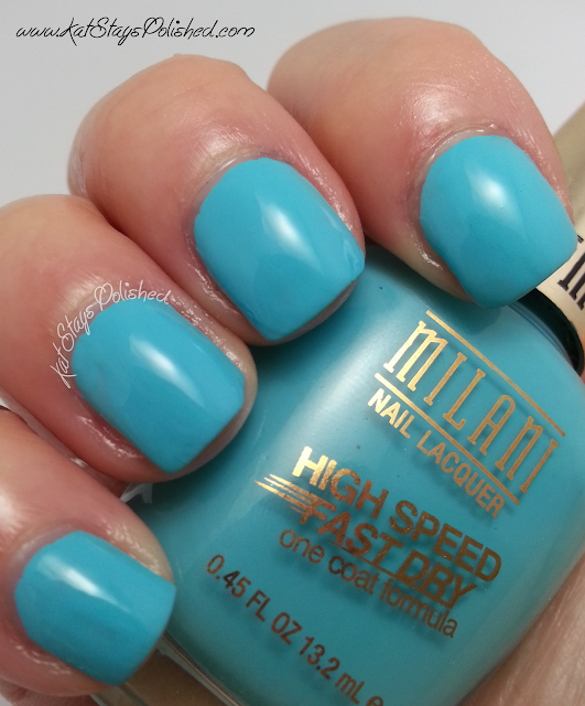 Milani High Speed Fast Dry - Aqua Brisk