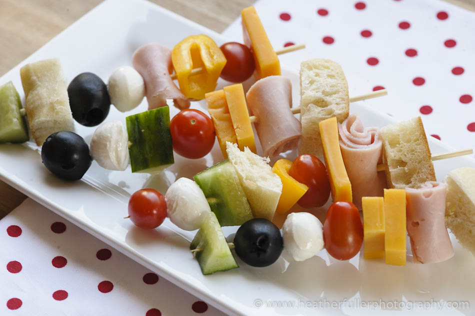 Creative Lunches: Sandwich on a Stick