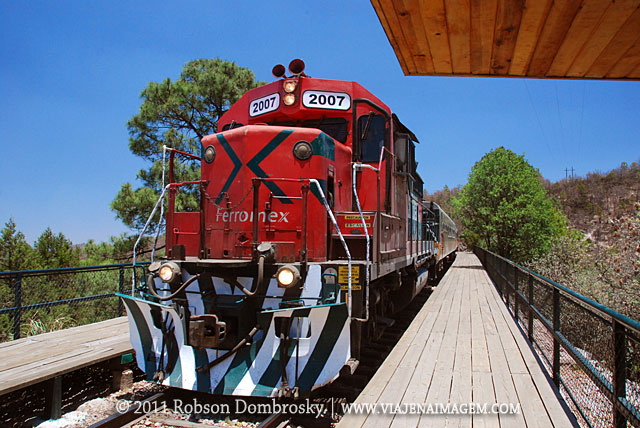 passeio de trem los mochis a chihuahua no mexico