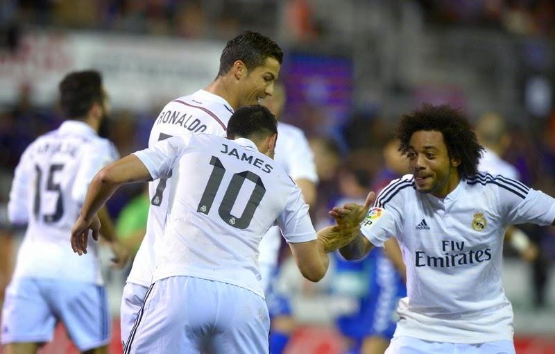 Copa del Rey : Real Madrid 5 – 0 UE Cornella