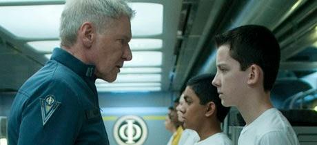 Escena de la película El juego de Ender
