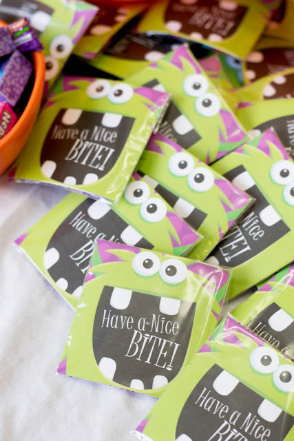 Prinatable Halloween Treat Bags