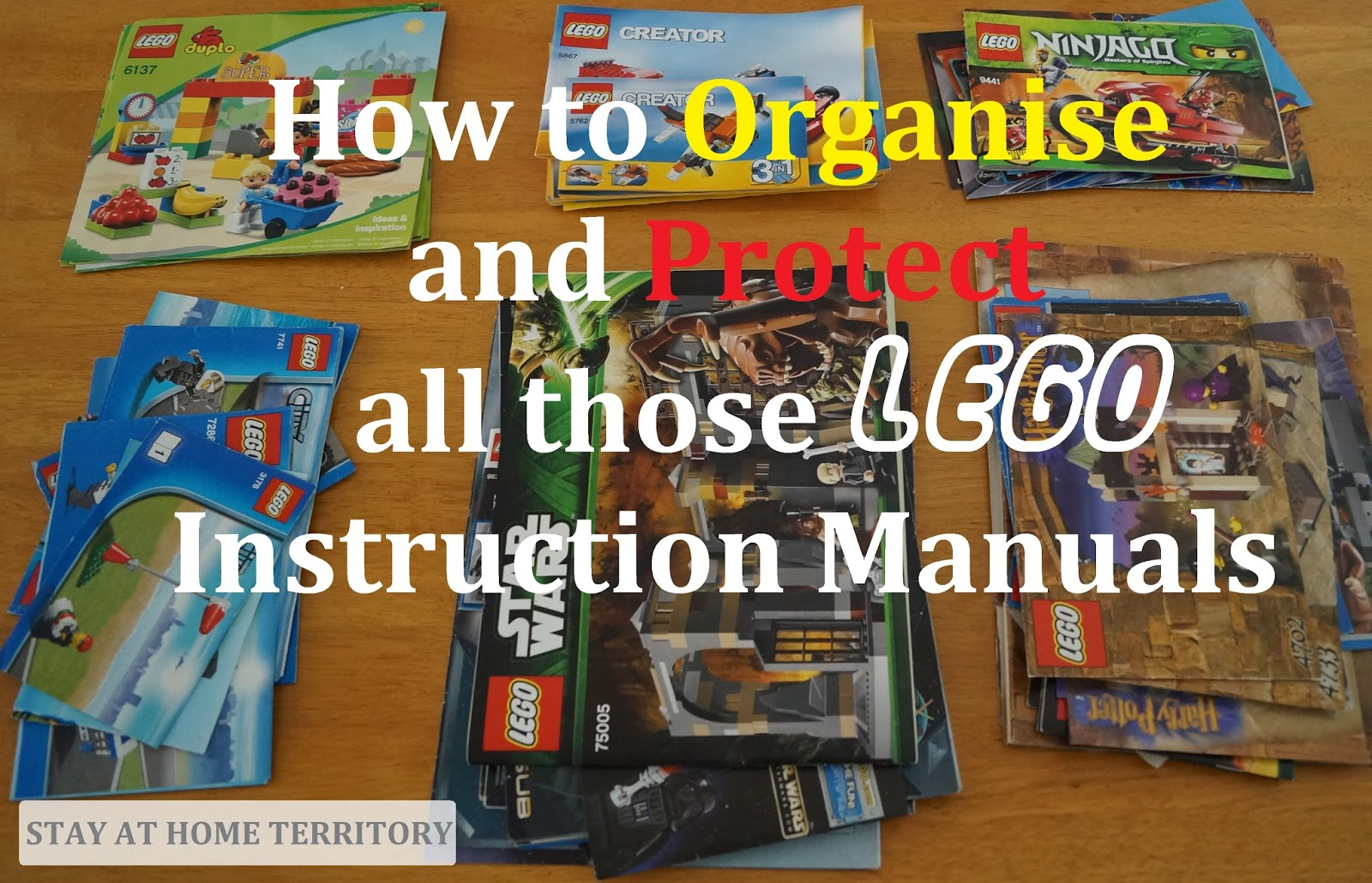 Stay At Home Territory How To Organise And Protect Lego Instruction