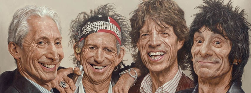 Rolling Stones - New Pop Realism - Sebastian Krüger 1963