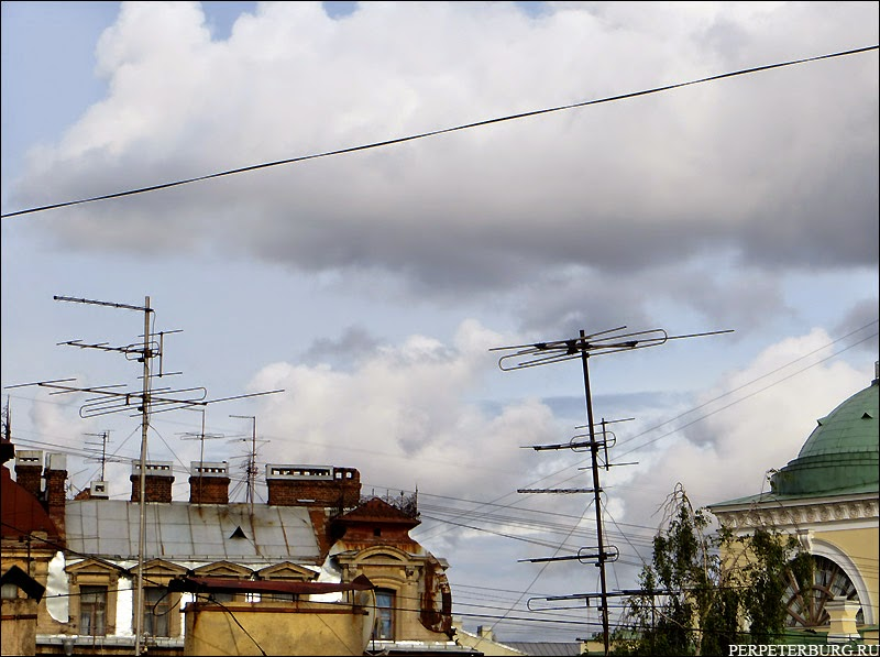 парадные Питера экскурсия крыши Петербурга