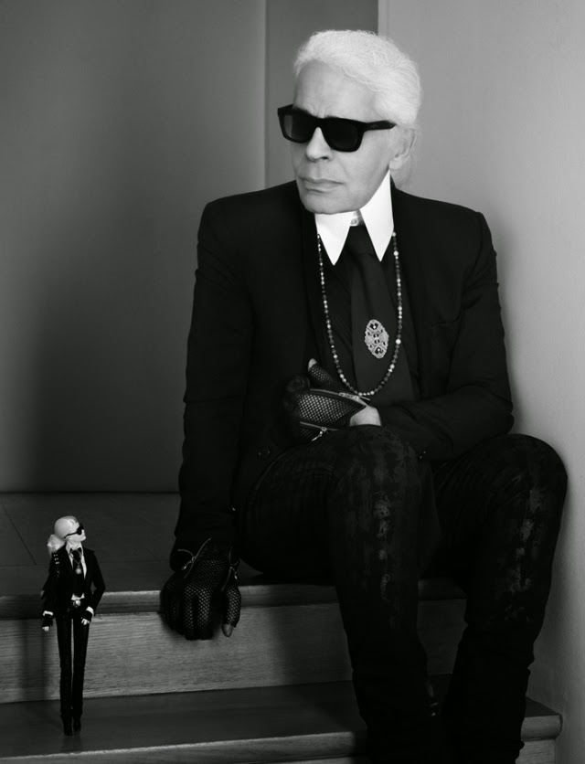 Barbie, Karl Lagerfeld, Mattel, Diseño de Modas, Fashion Industrie