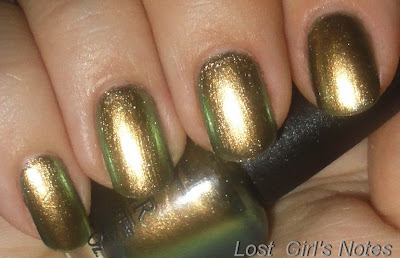 OPI the amazing spiderman collection just spotted the lizard swatches and review