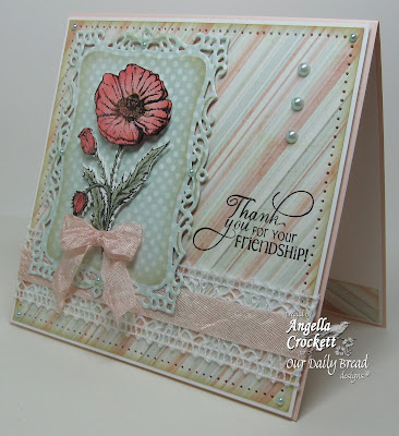 "ODBD ""Mother's Day"", ""Flourished Verses"", ODBD Poppy Die, Designer Angie Crockett"