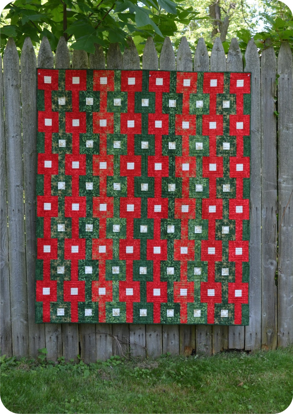 Timeless Treasures | Gift Boxes Quilt Tutorial from Ruby Blue ...