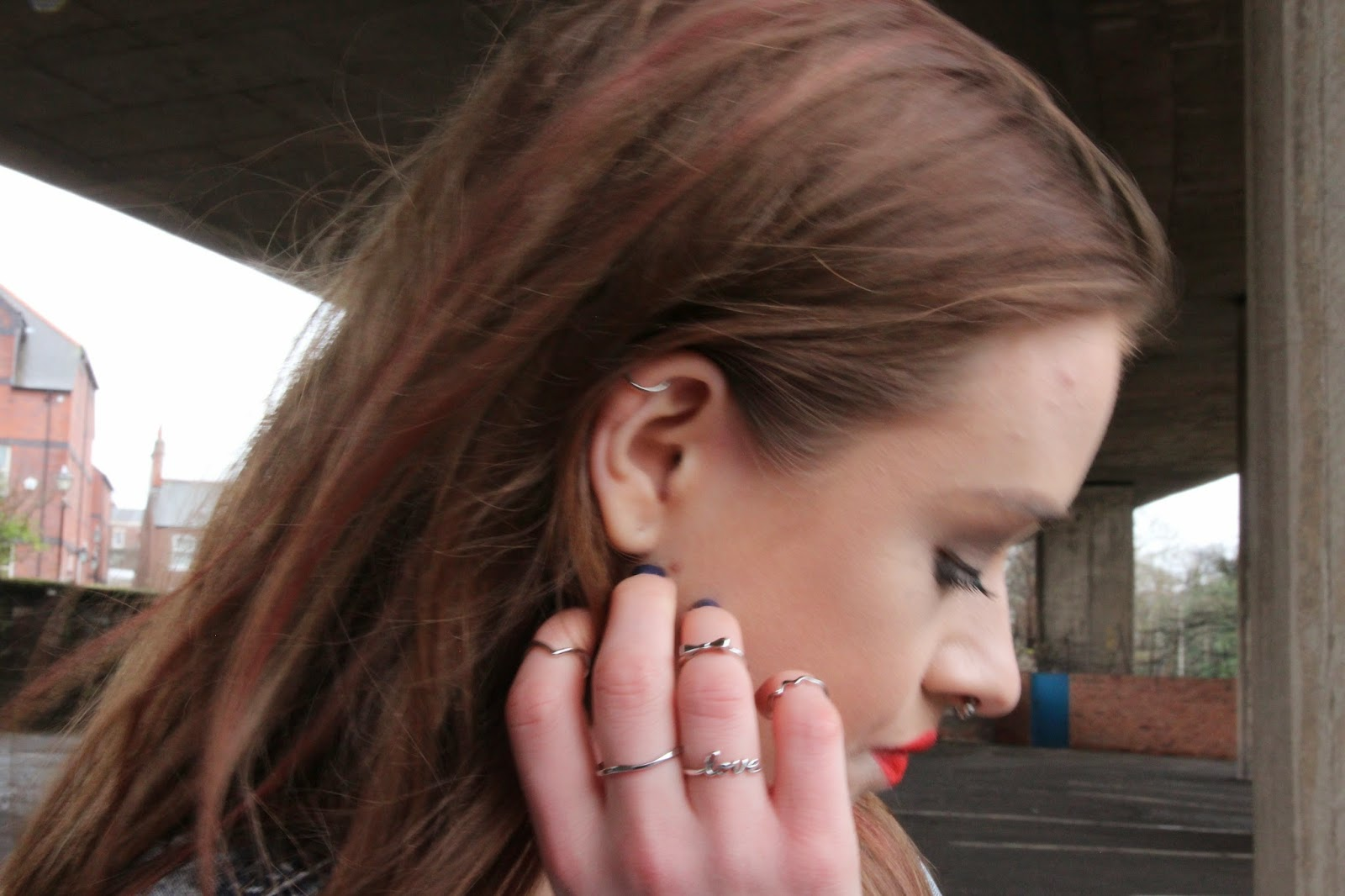 fashion, blogger, denim, street style