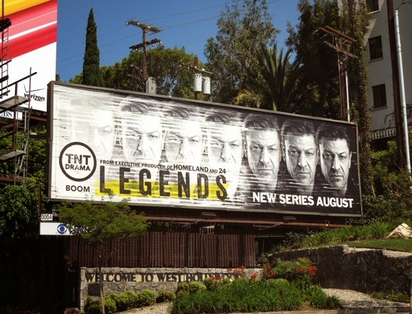 Legends series premiere TNT billboard