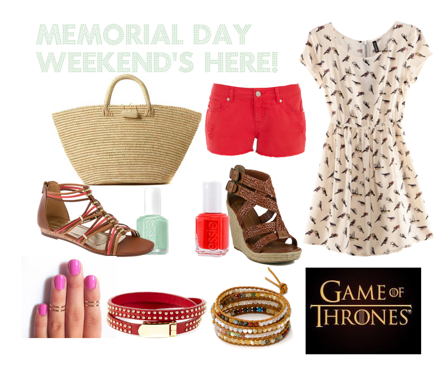 closet crush, print and pillage blog, memorial day weekend, fashion