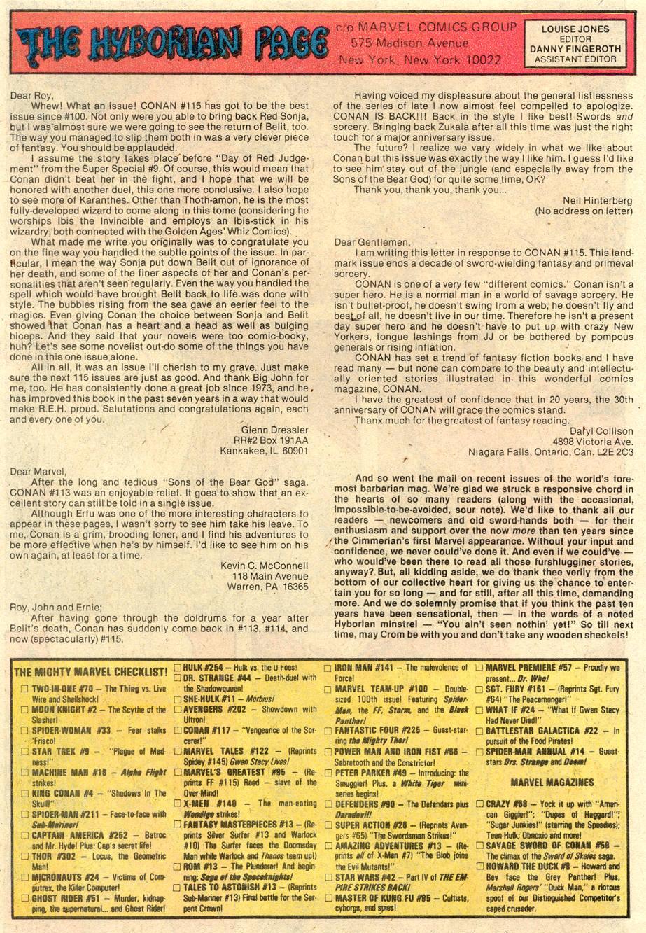Conan the Barbarian (1970) Issue #117 #129 - English 24