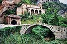4 Fotografías de la ermita de Santa maría de la Hoz, Burgos