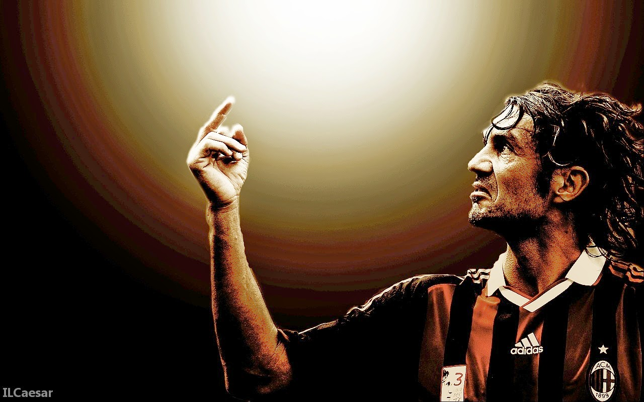 Paolo Maldini - AC Milan Legend Football Wallpapers HD 2014