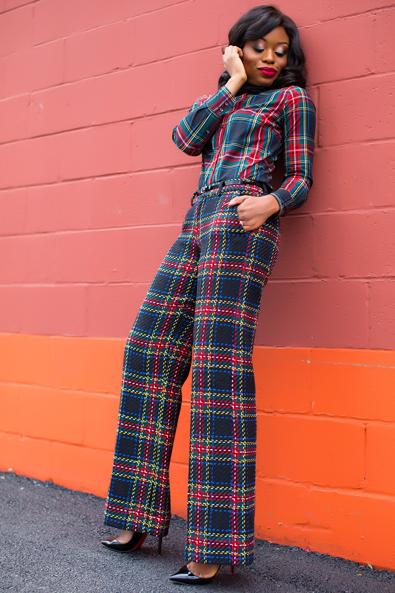 mixing plaid on plaid, www.jadore-fashion.com