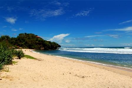 Sundak Beach is situated in Wonosari