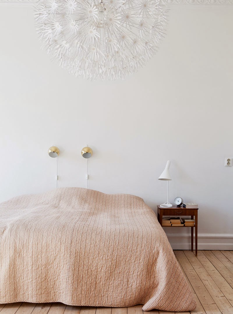 Apartamento nórdico lleno de clásicos del diseño