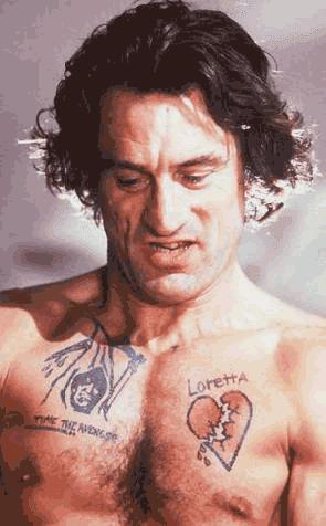 Robert DeNiro sebagai Max Cady dalam film Cape Fear
