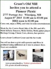 August 8 Pioneer Picnic