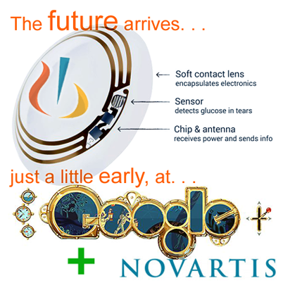 Google Novartis Collaborates To Develop Smart Contact Lenses For Diabetics