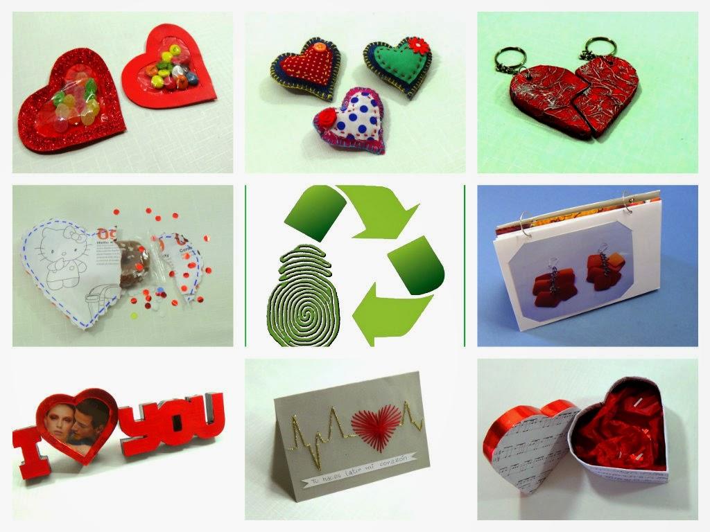 Ecobrisa diy ideas recicladas para san valentin - Manualidades para hacer en san valentin ...