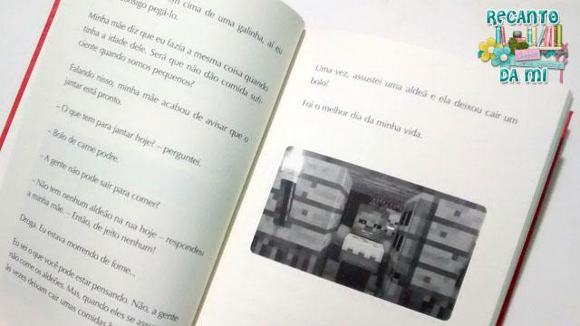 Diário de um zumbi do Minecraft: Um desafio assustador - Herobrine Books
