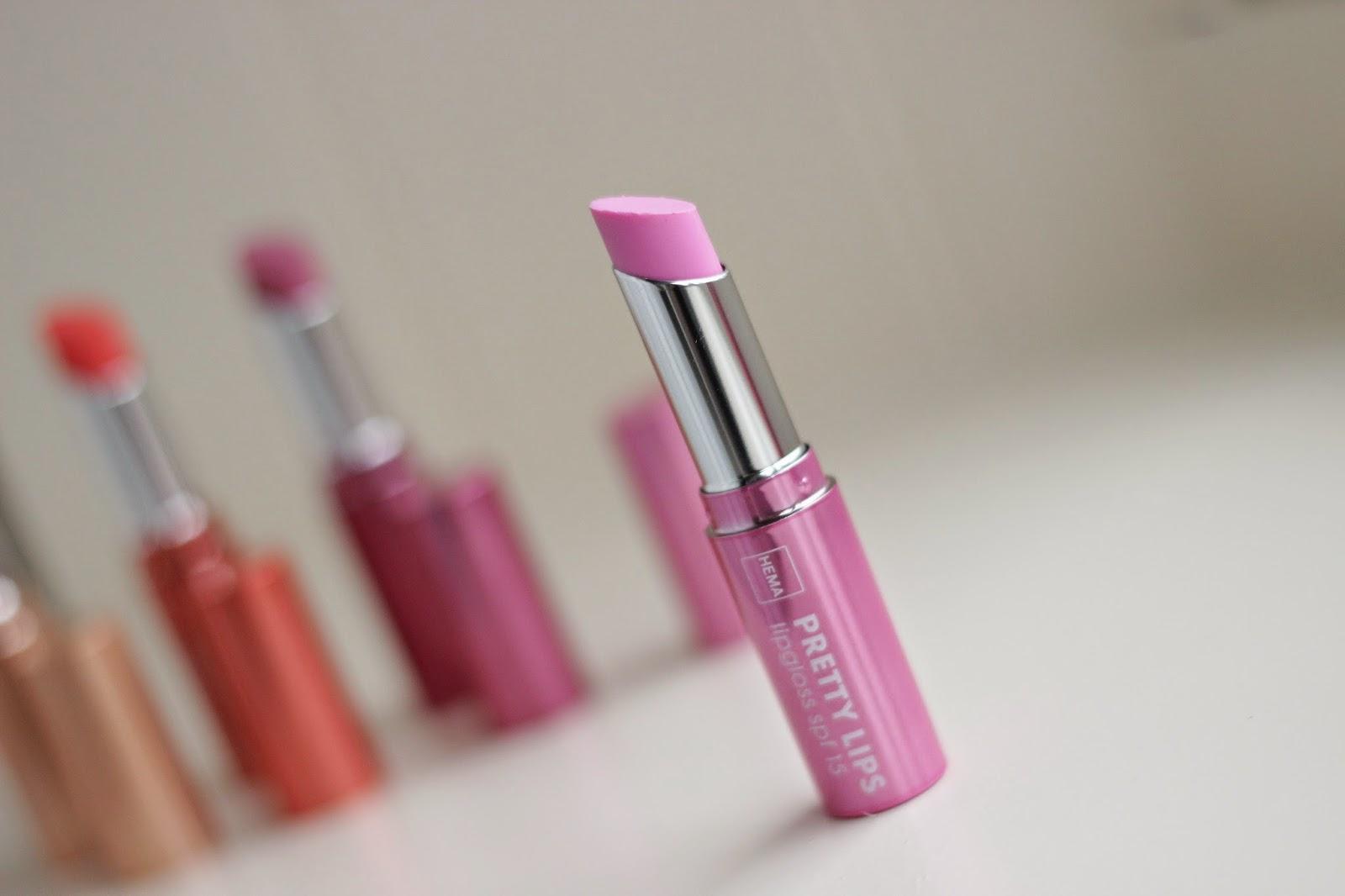 hema pretty lips lipgloss pretty pink